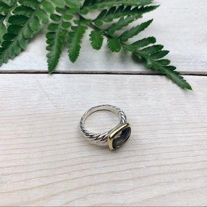 David Yurman | Noblesse 18K Gold Citrine Ring